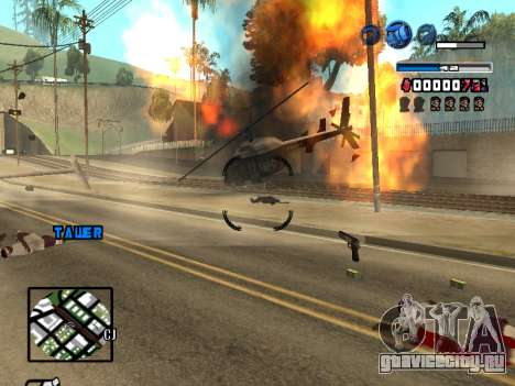 C-HUD Fantastik для GTA San Andreas пятый скриншот