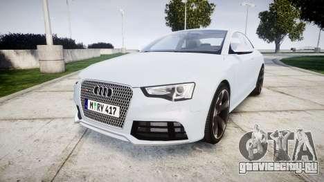 Audi RS5 2012 v2.0 для GTA 4