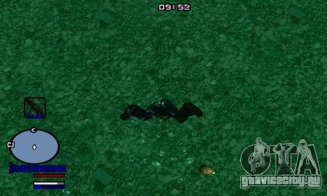 C-HUD Normal для GTA San Andreas второй скриншот