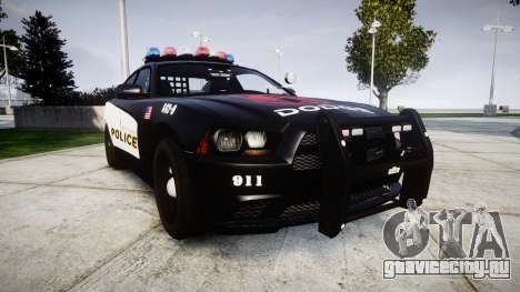 Dodge Charger STR8 LCPD [ELS] для GTA 4
