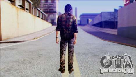 Joel from The Last Of Us для GTA San Andreas второй скриншот