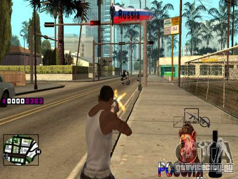 C-HUD RussiA для GTA San Andreas четвёртый скриншот