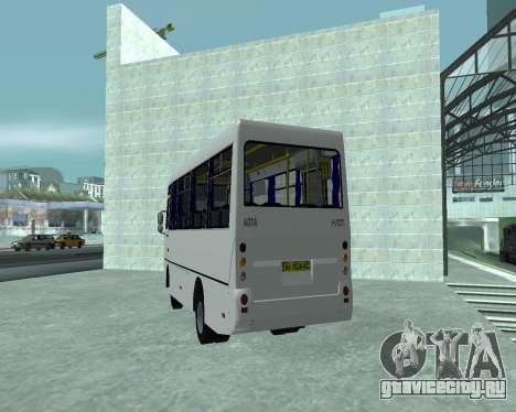 I-Van A07A для GTA San Andreas вид сзади слева