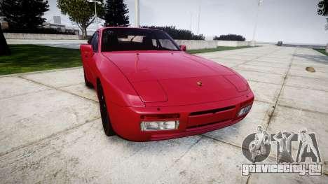 Porsche 944 Turbo 1989 для GTA 4