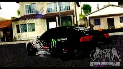 Nissan 180SX Monster Energy для GTA San Andreas вид слева
