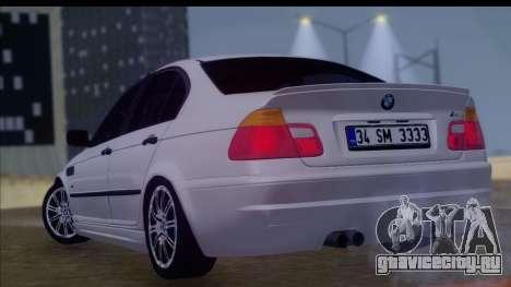 BMW M3 E46 Sedan для GTA San Andreas вид слева