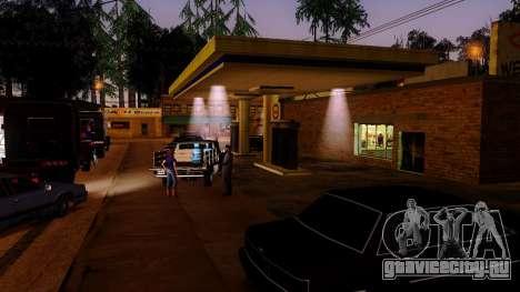 Оживление заправок Лос Сантоса для GTA San Andreas пятый скриншот