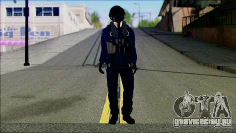 Chinese Jet Pilot from Battlefield 4 для GTA San Andreas