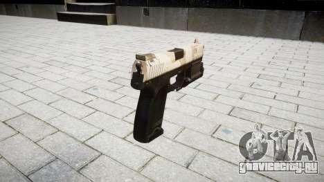 Пистолет HK USP 45 nevada для GTA 4 второй скриншот
