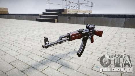 Автомат АК-47 Collimator target для GTA 4
