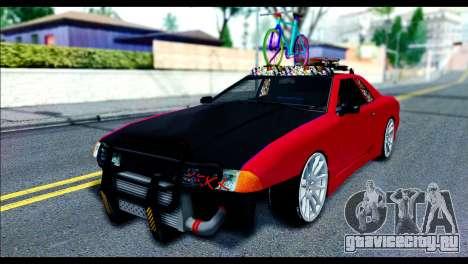 Elegy Slammed для GTA San Andreas вид слева