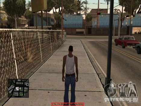 CLEO Date and Time для GTA San Andreas второй скриншот