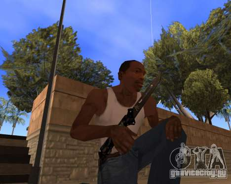 Hitman Weapon Pack v1 для GTA San Andreas третий скриншот