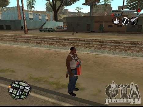 C-HUD Good для GTA San Andreas второй скриншот