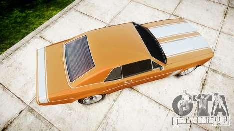 Declasse Tampa 1976 v2.0 для GTA 4 вид справа