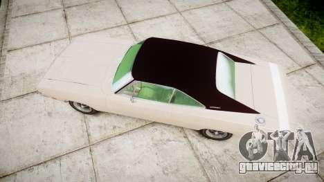 Dodge Charger RT 1969 для GTA 4 вид справа