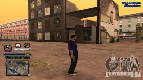 C-HUD Universal для GTA San Andreas второй скриншот