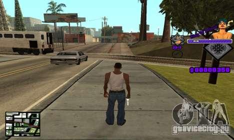 C-HUD King Of Detroit для GTA San Andreas второй скриншот