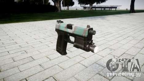 Пистолет HK USP 45 warsaw для GTA 4