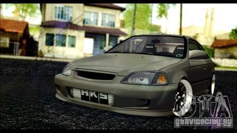 Honda Civic 1997 для GTA San Andreas