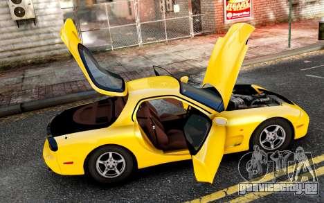 Mazda RX-7 1997 FD3s [EPM] для GTA 4 вид слева