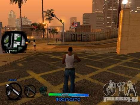 C-HUD COOL для GTA San Andreas