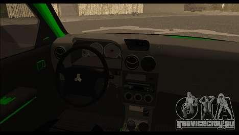 Kia Pride 141 для GTA San Andreas вид сзади слева