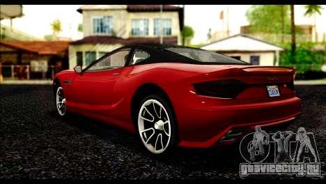 GTA 5 Hijak Khamelion IVF для GTA San Andreas вид слева