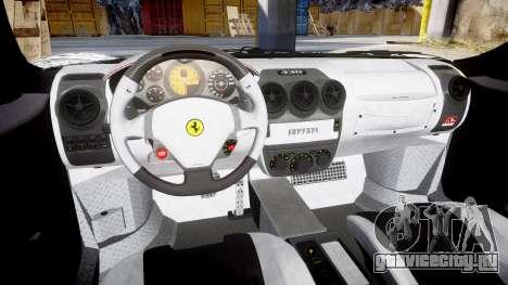 Ferrari F430 Scuderia 2007 Sharpie для GTA 4 вид изнутри