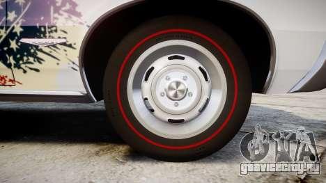 Pontiac GTO 1965 united для GTA 4 вид сзади