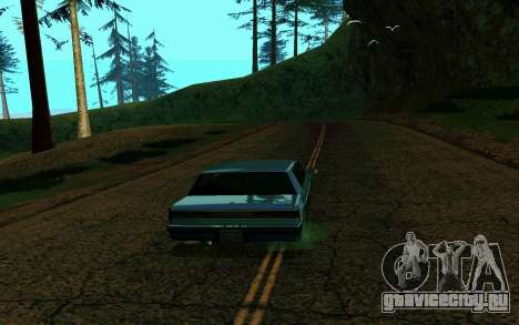 ENB для средних и слабых ПК для GTA San Andreas второй скриншот
