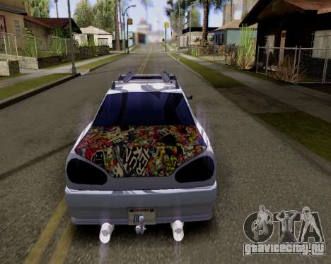 Elegy v2.0 для GTA San Andreas вид слева
