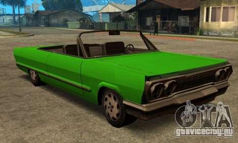 Beta Savanna для GTA San Andreas