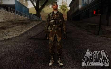 Soldier Skin 4 для GTA San Andreas