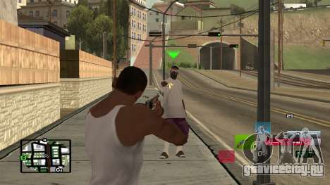 C-HUD by SampHack v.19 для GTA San Andreas второй скриншот