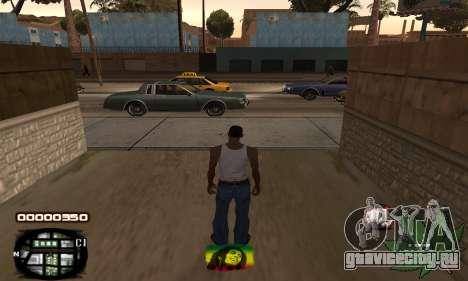 C-HUD Rasta для GTA San Andreas