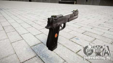 Пистолет Beretta M92 Samurai Edge S.T.A.R.S. для GTA 4 второй скриншот