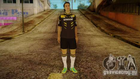 Footballer Skin 4 для GTA San Andreas