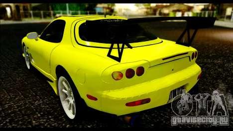Mazda RX-7 Drift для GTA San Andreas вид слева
