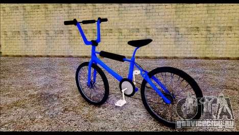 New BMX Bike для GTA San Andreas вид слева