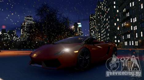 Snow IV для GTA 4 четвёртый скриншот