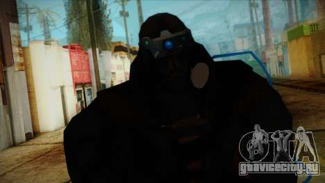 Super Soldier from Prototype 2 для GTA San Andreas третий скриншот