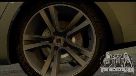 Seat Leon Fr 2013 для GTA San Andreas вид сзади слева