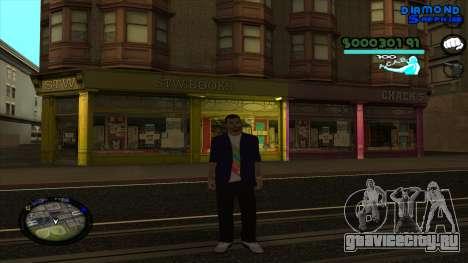 C-HUD Lopez для GTA San Andreas