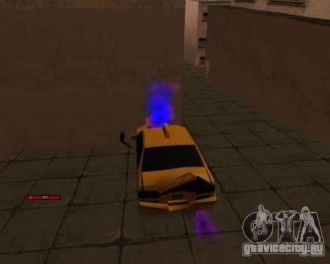 Индикатор HP у автомобиля для GTA San Andreas третий скриншот