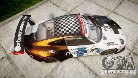 RUF RGT-8 GT3 [RIV] Nelris для GTA 4 вид справа