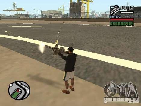 Двойное владением всем оружием для GTA San Andreas шестой скриншот
