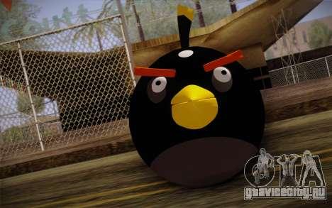 Black Bird from Angry Birds для GTA San Andreas третий скриншот