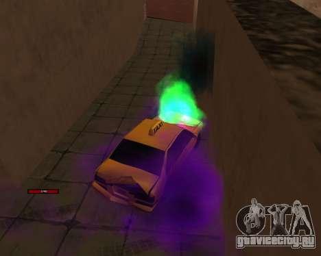 Индикатор HP у автомобиля для GTA San Andreas четвёртый скриншот