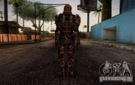 Shepard Reckoner Armor from Mass Effect 3 для GTA San Andreas второй скриншот